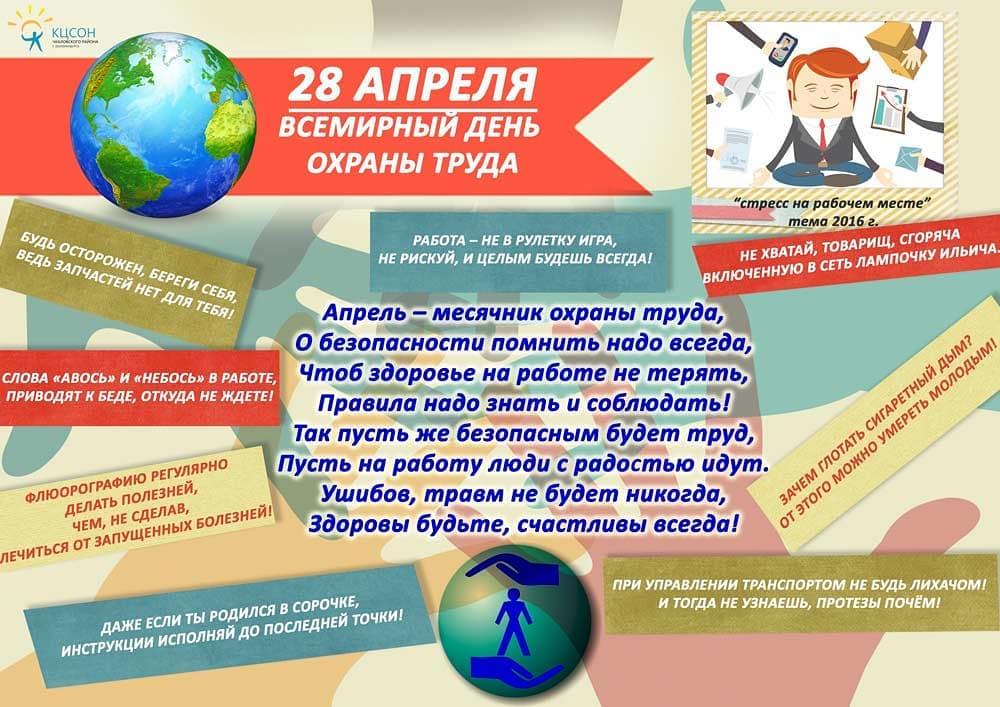28.04. Всемирный день охраны труда